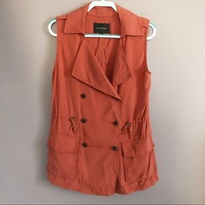Banana Republic Lightweight Double Breasted Vest